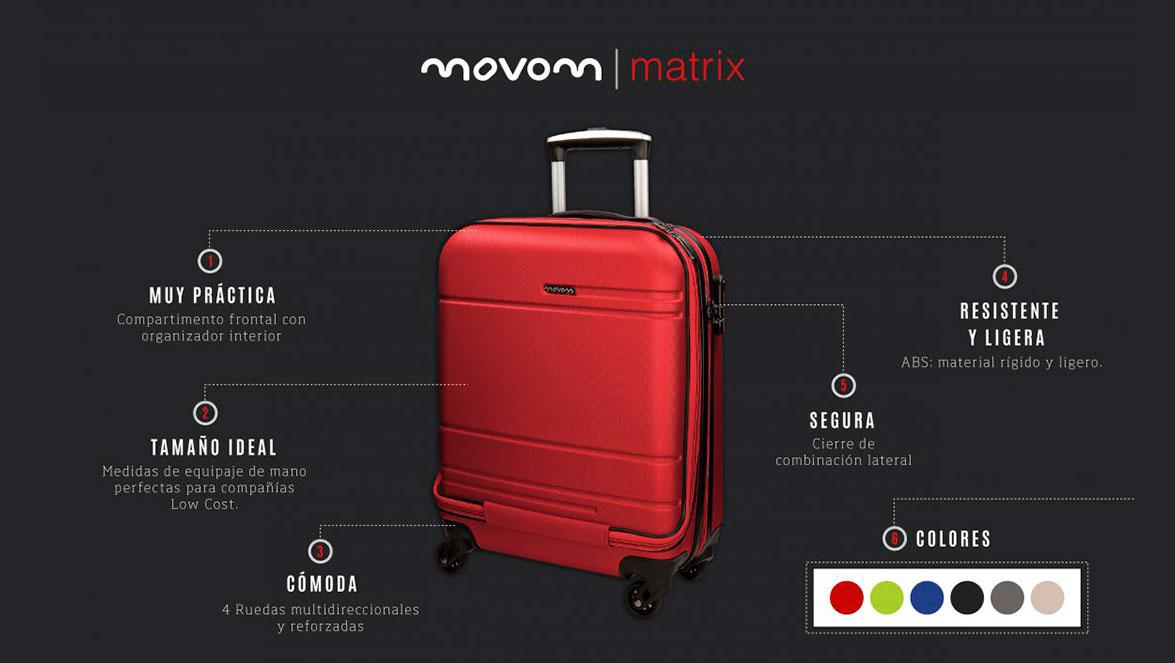 1dd69cc9c Todo lo que debes saber de las maletas rígidas Matrix