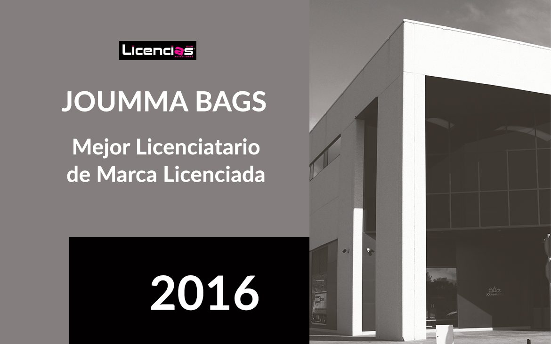 Joumma Bags, un año más, nombrada mejor licenciatario de marca licenciada