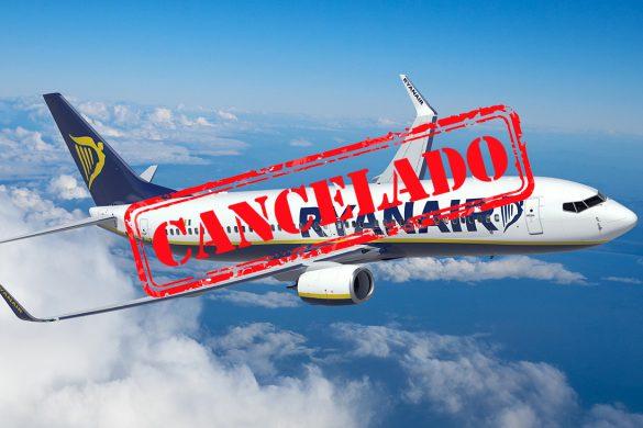 Cancelación de vuelos Ryanair