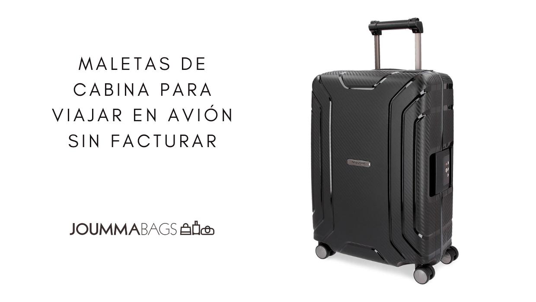 ad58323ee ... maletas de cabina para viajar en avión sin facturar en 2019. Consejos  para viajar