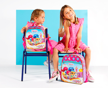 Mochila Shimmer and Shine