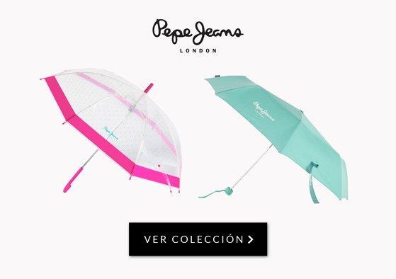 paraguas pepe jeans