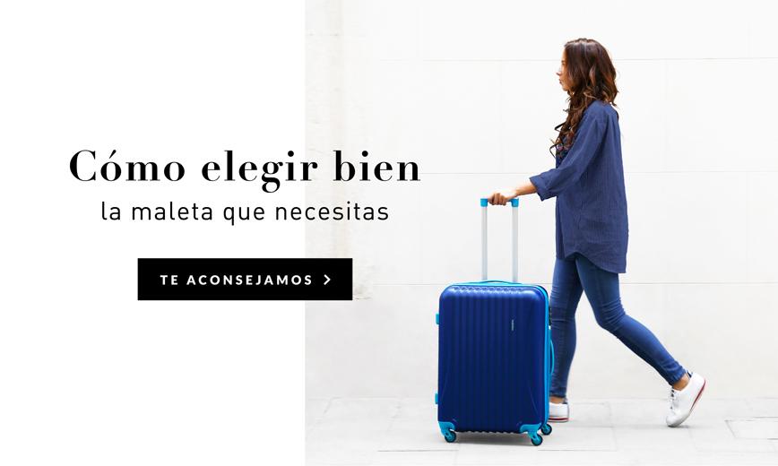 Elegir una maleta no es una decisión fácil. Por eso aquí tienes la guía definitiva de qué maleta necesitas según la duración de tu viaje y el estilo. Y no solo eso. Si necesitas hacer un regalo de cumpleaños, Navidad o comunión, también encontrarás consejos sobre qué maleta es la mejor. Y como extra, algunos tips para viajar solo con el equipaje de mano. ¡No te lo pierdas!